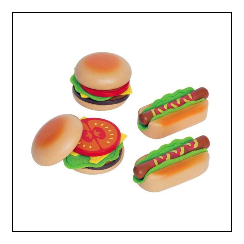 hape e3112 hamburger und hot dogs. Black Bedroom Furniture Sets. Home Design Ideas