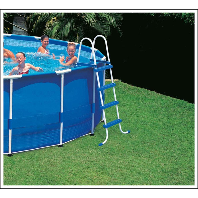 intex 28062 leiter f r pool 122 cm. Black Bedroom Furniture Sets. Home Design Ideas