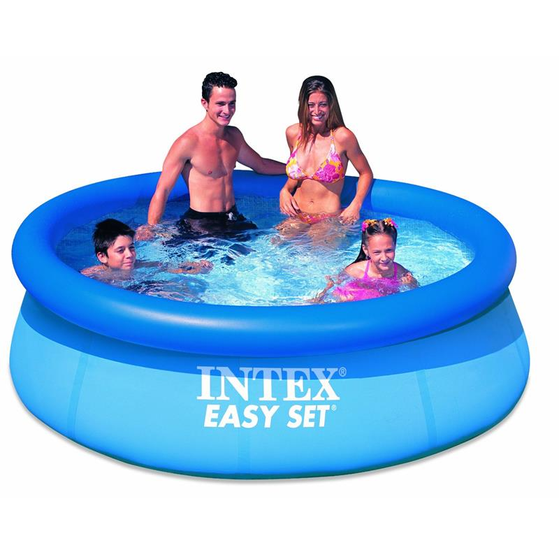 intex 28110 easy set pool 244 x 76 cm. Black Bedroom Furniture Sets. Home Design Ideas