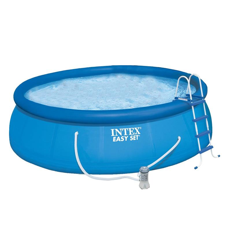Intex 28168gn easyset pool set 457x122 cm for Garten pool 457x122