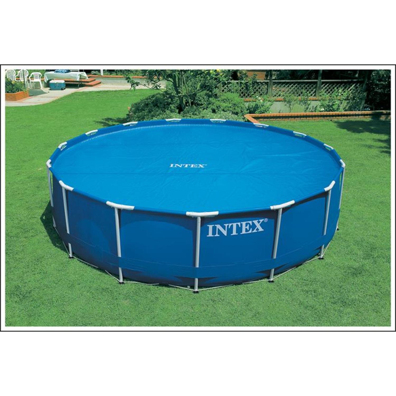 intex 29023 solar abdeckplane f r pools 457 cm. Black Bedroom Furniture Sets. Home Design Ideas