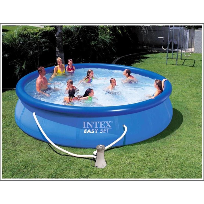 Intex 36m 12ft easy set pool toys r us - Piscina toys r us ...