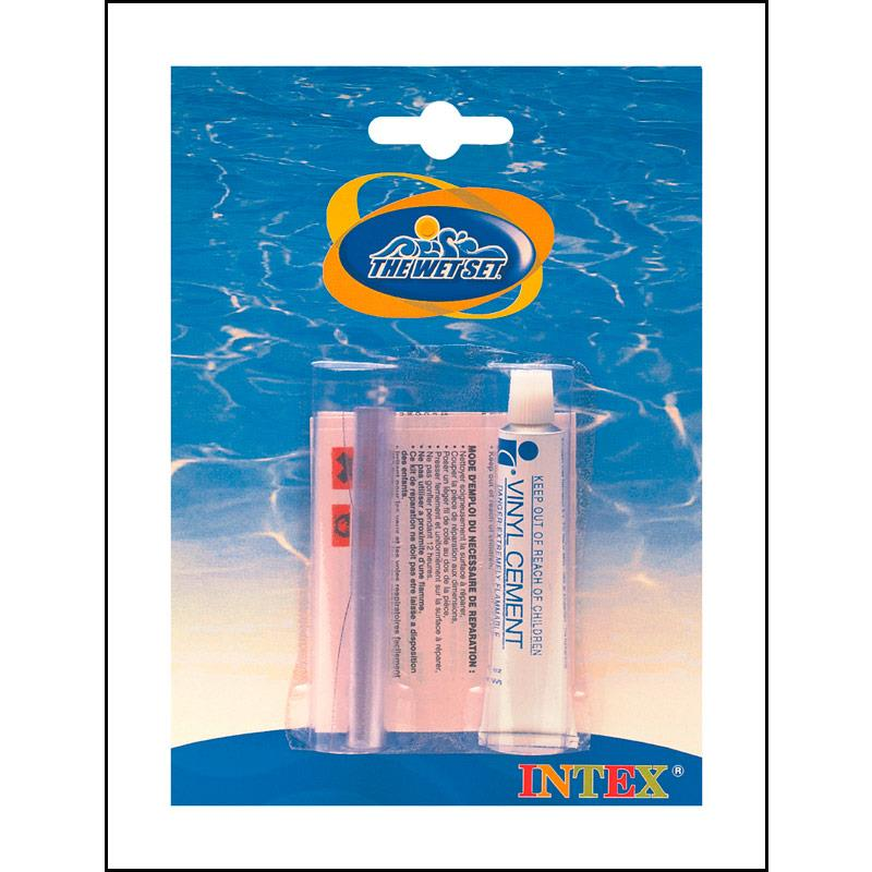 Intex 59632 reparatur set f r alle pvc artikel for Pool reparaturset folie