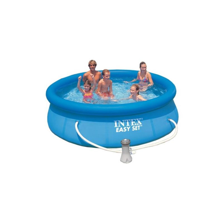 intex 56932gs easy set pool 366 x 91 cm mit filterpumpe. Black Bedroom Furniture Sets. Home Design Ideas