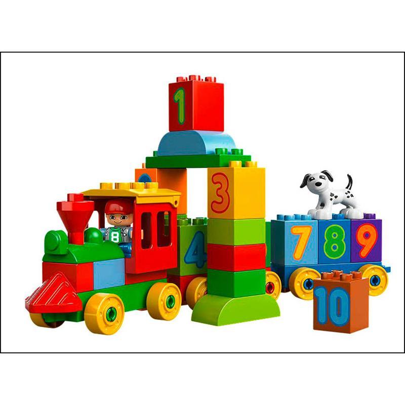Lego 10558 zahlenzug for Duplo adventskalender