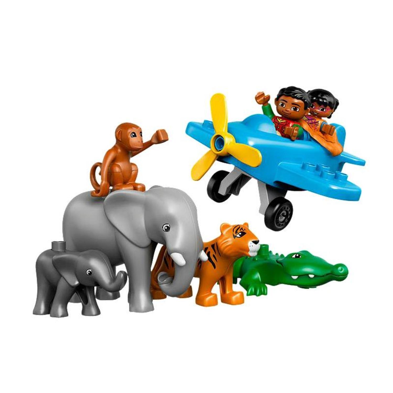 Lego 10804 duplo dschungel for Duplo adventskalender