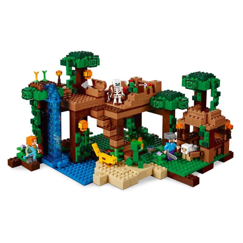 Lego 21125 minecraft das dschungel baumhaus