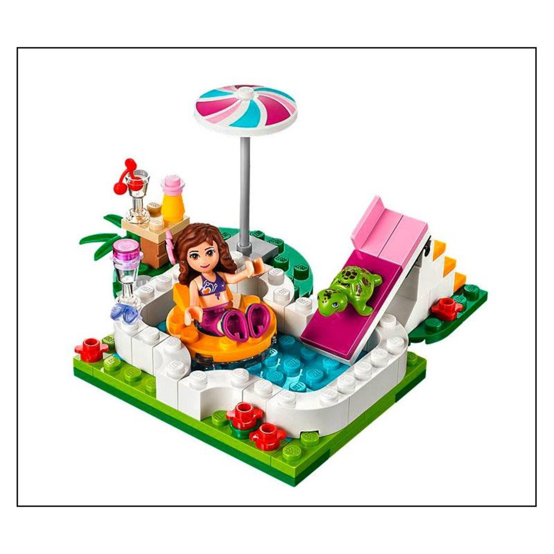 Lego 41090 friends olivias gartenpool for Gartenpool mit rutsche