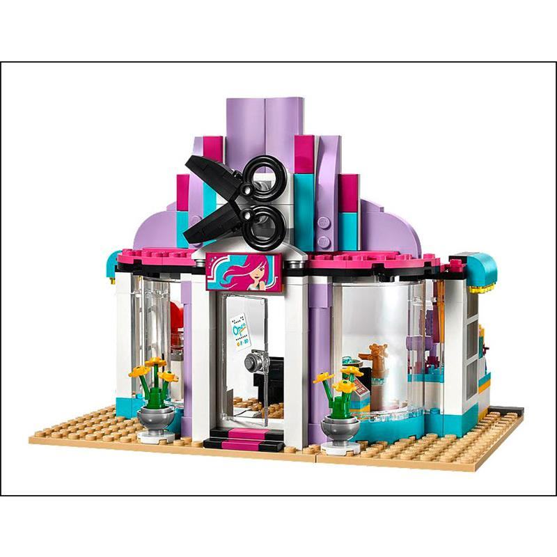 Lego 41093 friends heartlake friseursalon - Salon de coiffure lego friends ...