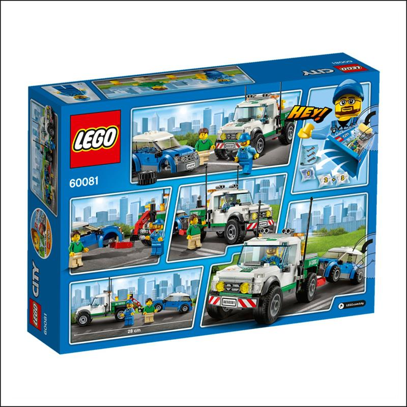 lego 60081 city pickup abschleppwagen mit auto. Black Bedroom Furniture Sets. Home Design Ideas
