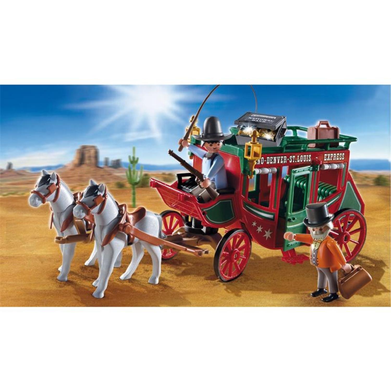 Playmobil 4399 postkutsche for Kutsche playmobil