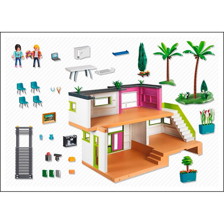 playmobil 5574 moderne luxusvilla On casa moderna playmobil 5574