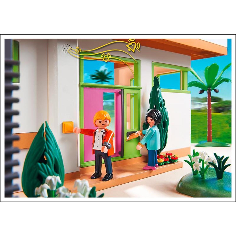 Playmobil 5574 moderne luxusvilla for Casa moderna playmobil 5574