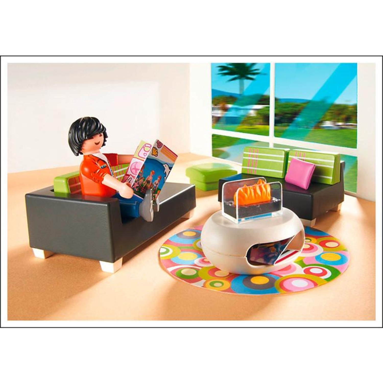 Playmobil 5584 wohnzimmer for Wohnzimmer playmobil