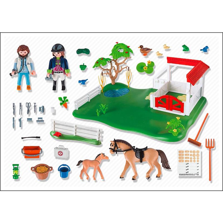 playmobil 6147 superset koppel mit pferdebox. Black Bedroom Furniture Sets. Home Design Ideas