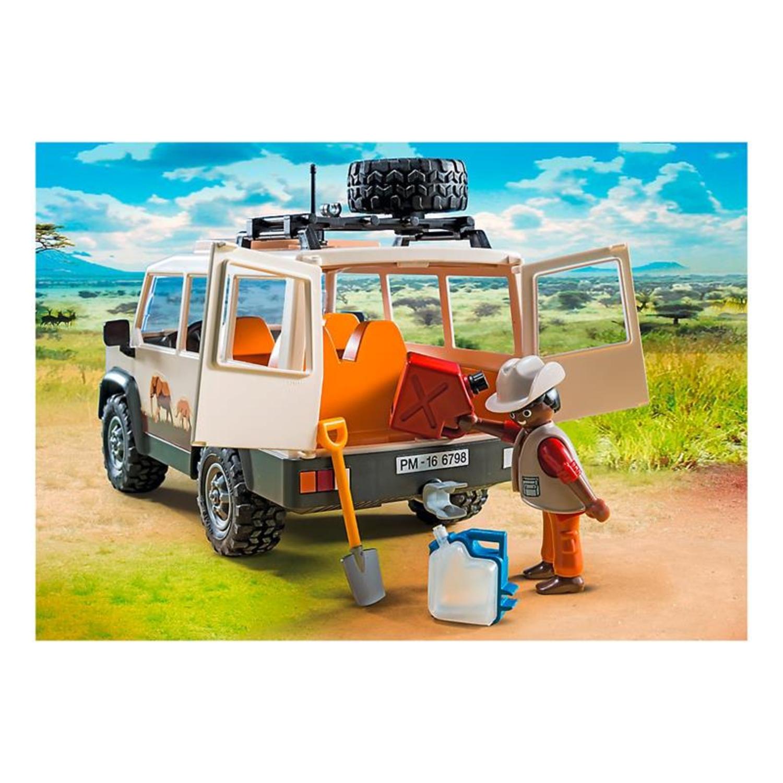 PLAYMOBIL 6798 Safari-Geländewagen mit Seilwinde