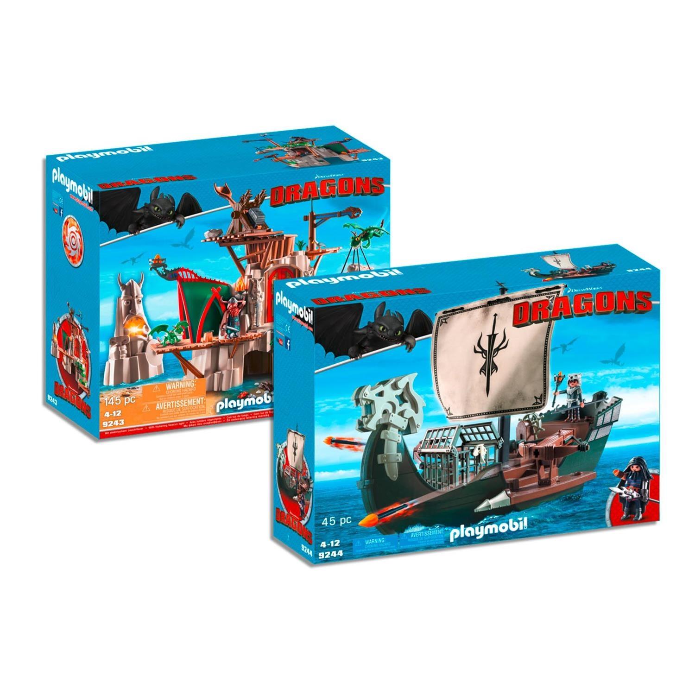playmobil 9243 4 dragons set 3 2er set 9243 9244. Black Bedroom Furniture Sets. Home Design Ideas
