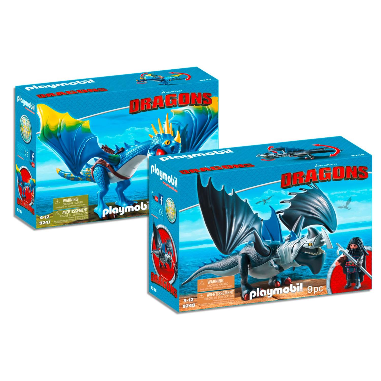 playmobil 9247 8 dragons set 4 2er set 9247 9248. Black Bedroom Furniture Sets. Home Design Ideas