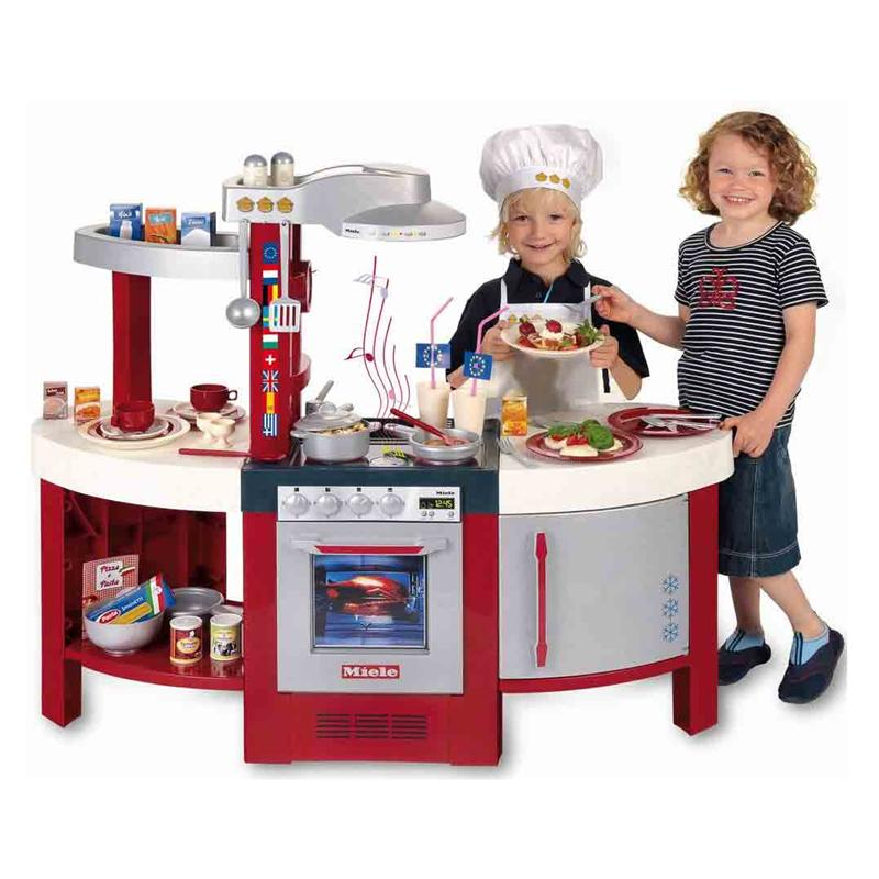 Theo klein 9155 miele spielkueche gourmet international for Spielküche miele