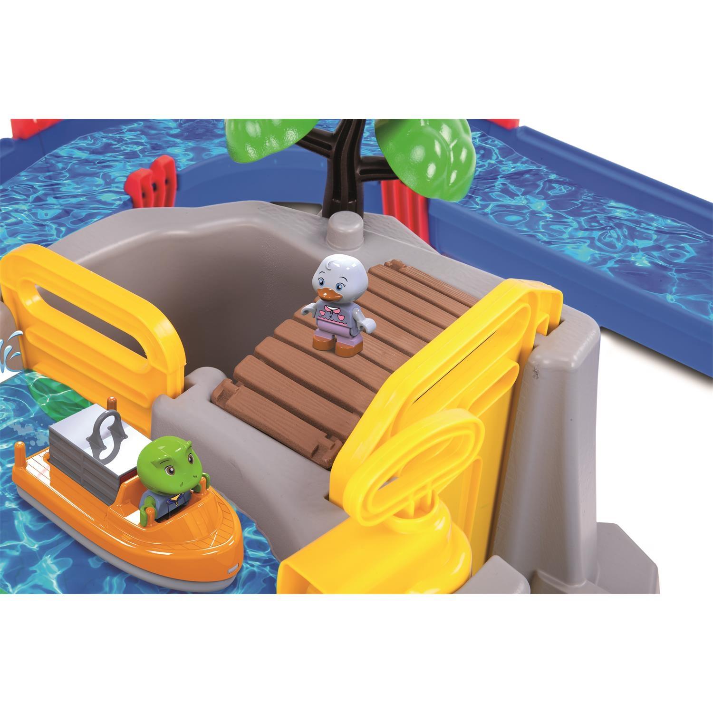 Aquaplay 1642 Wasserkanalsystembahn Mountain Lake mit Bergsee und