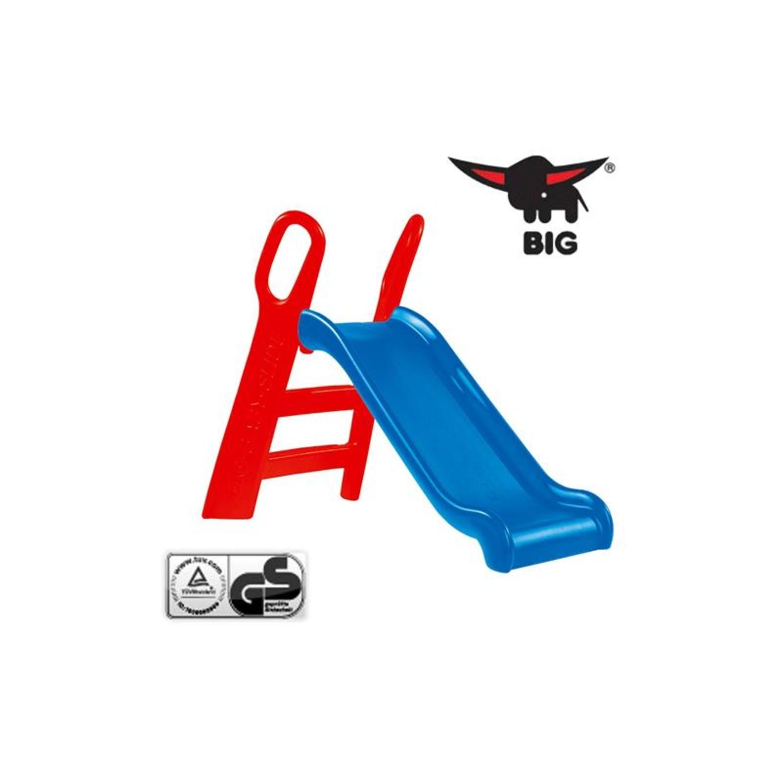 big 800056704 rutsche big baby slide rot blau 118cm. Black Bedroom Furniture Sets. Home Design Ideas
