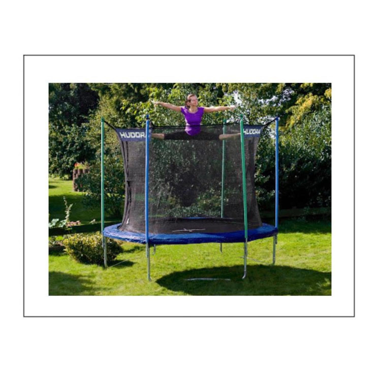 hudora 65314 hudora fitness trampolin 300 cm mit. Black Bedroom Furniture Sets. Home Design Ideas