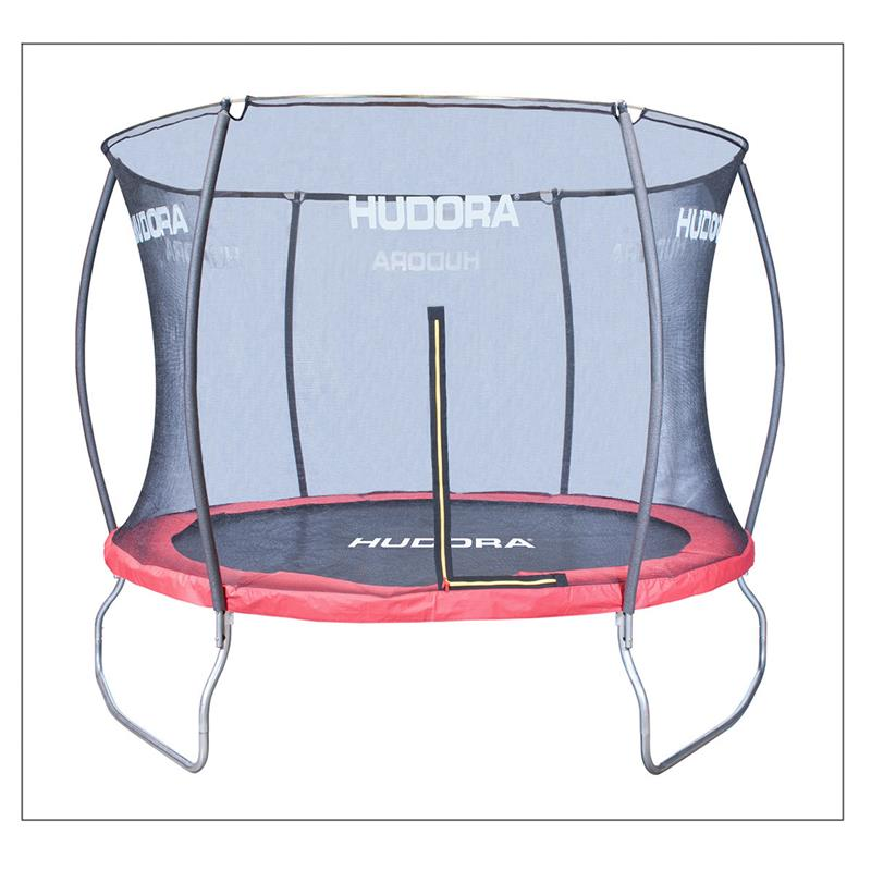 hudora 65731 hudora fantastic trampolin 300 set mit. Black Bedroom Furniture Sets. Home Design Ideas