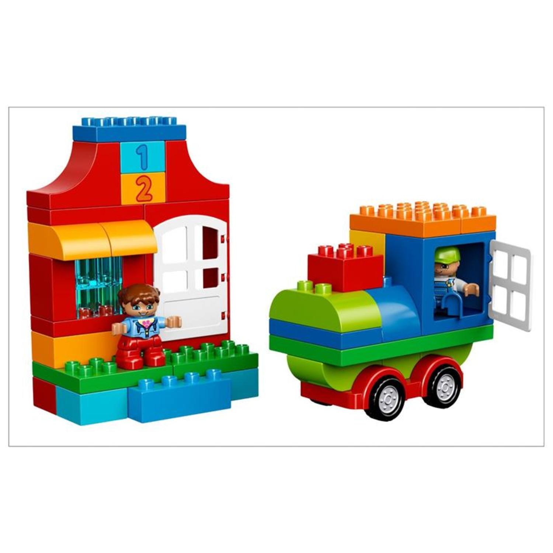 Lego 10580 lego duplo deluxe steinebox for Duplo adventskalender