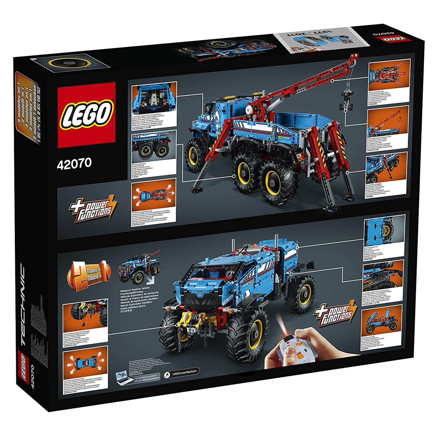 lego 42070 technic allrad abschleppwagen. Black Bedroom Furniture Sets. Home Design Ideas