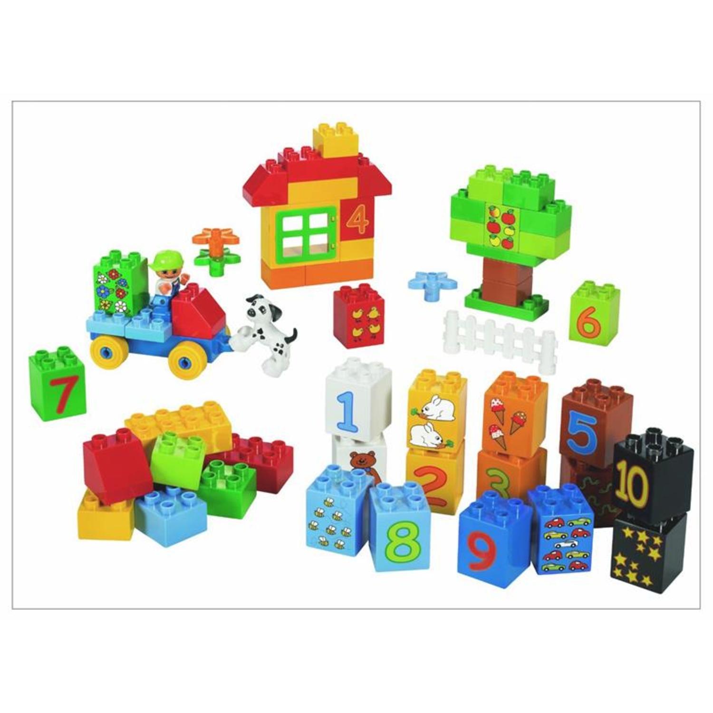 Lego 5497 duplo zahlen lernspiel for Adventskalender duplo