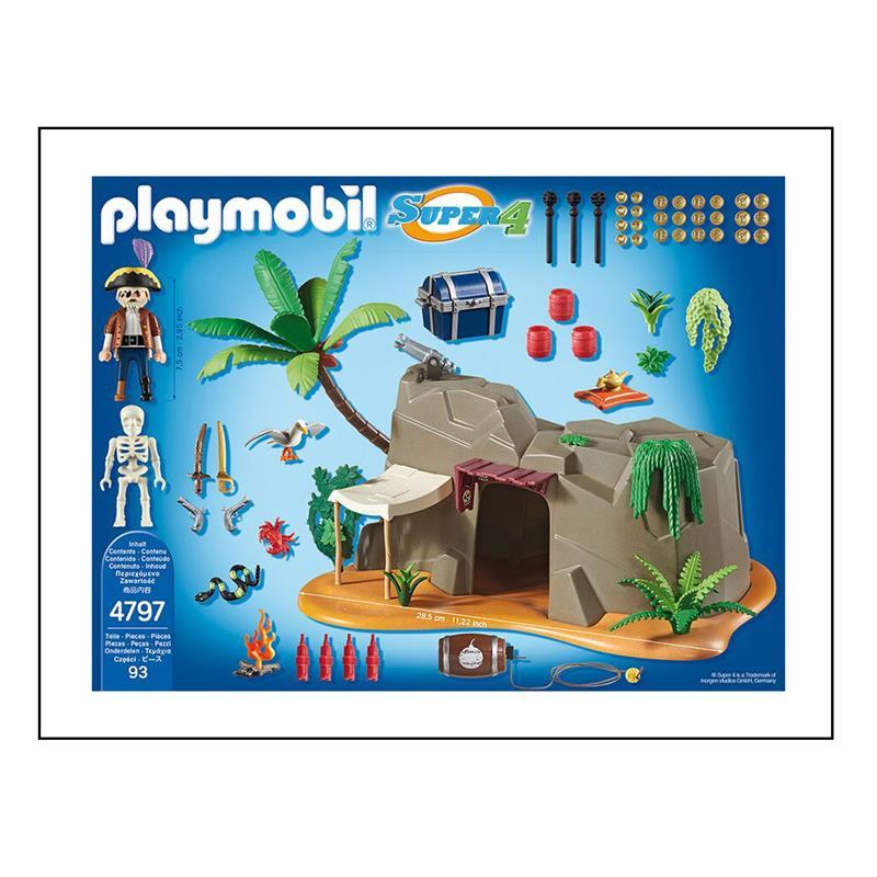 playmobil 4797 super 4 piraten h hle. Black Bedroom Furniture Sets. Home Design Ideas