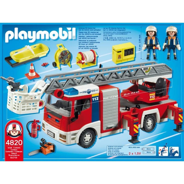 Toys world deutschland - Playmobil de pompier ...