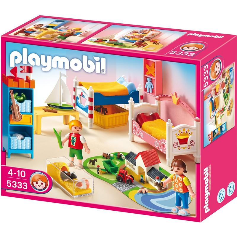 Playmobil 5333 froehliches kinderzimmer for Kinderzimmer play 01