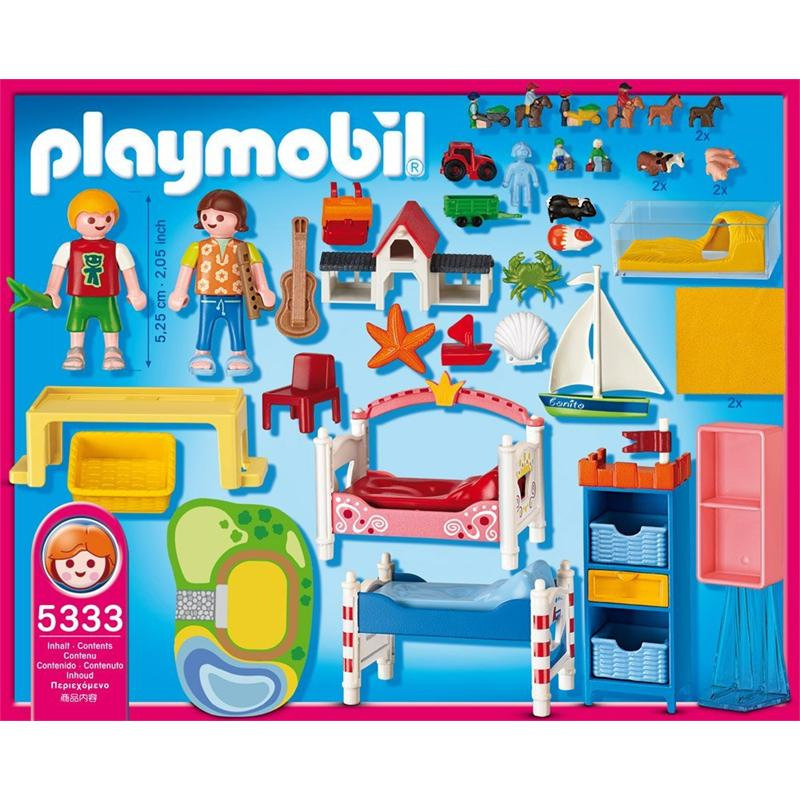 Playmobil 5333 froehliches kinderzimmer for Kinderzimmer playmobil