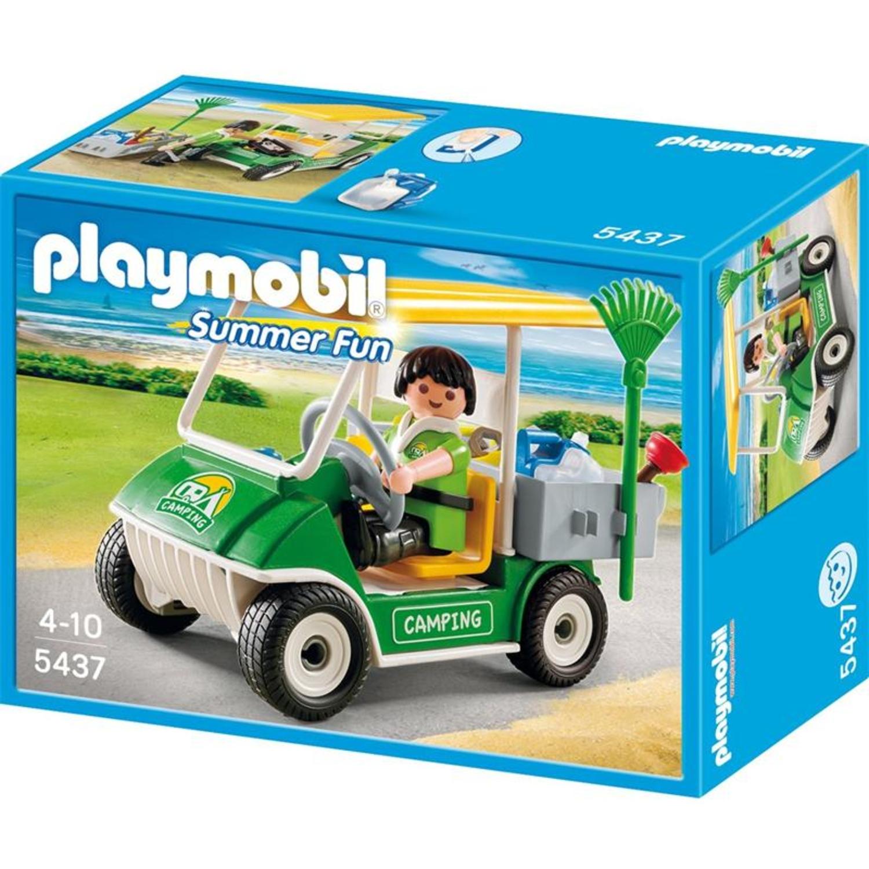 playmobil 5437 campingplatz servicefahrzeug. Black Bedroom Furniture Sets. Home Design Ideas