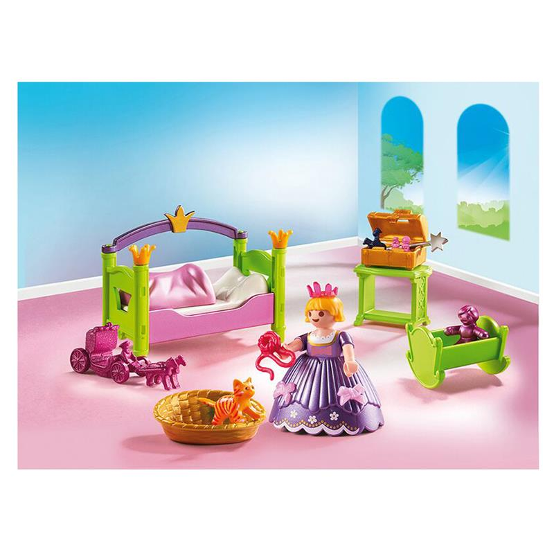 playmobil 6852 prinzessinnen kinderzimmer. Black Bedroom Furniture Sets. Home Design Ideas