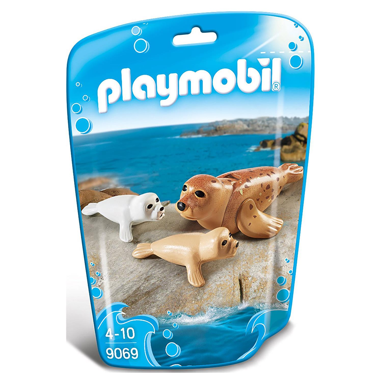 Playmobil 9069 Robbe Mit Babys