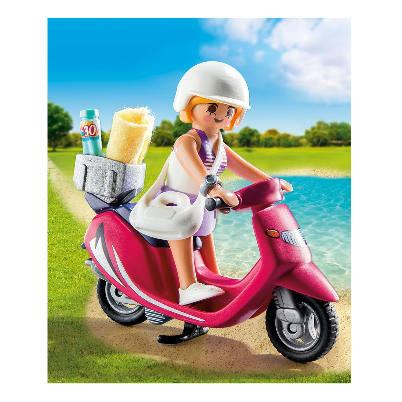 playmobil 9084 strand girl mit roller. Black Bedroom Furniture Sets. Home Design Ideas