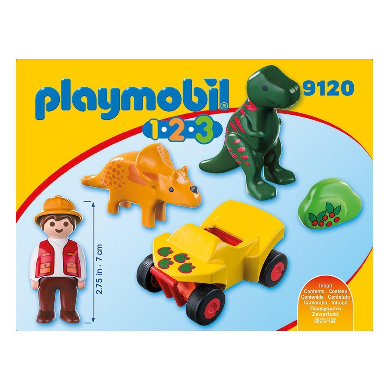 playmobil 9120 1 2 3 dinoforscher mit quad. Black Bedroom Furniture Sets. Home Design Ideas