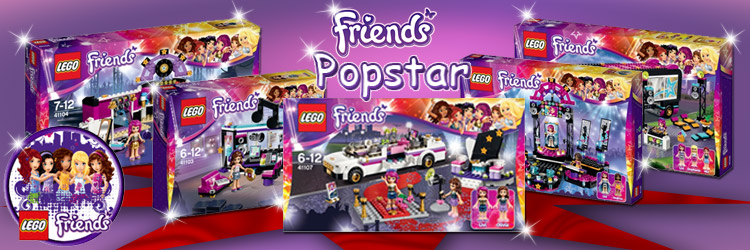 Lego Friends Popstar NEWS