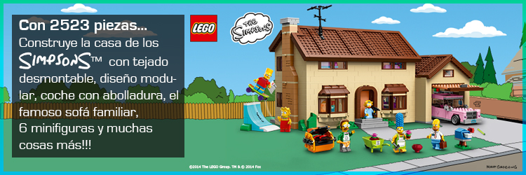 The Simpsons House from Lego
