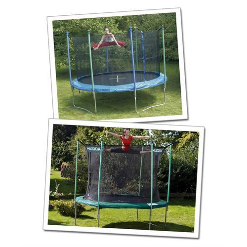 netzstange komplett f r sicherheitsnetz der trampolin von 305 bis 310 cm ebay. Black Bedroom Furniture Sets. Home Design Ideas