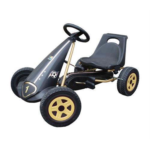 Kettler 8075 900 Kettcar Deutschland, schwarz / rot / gold