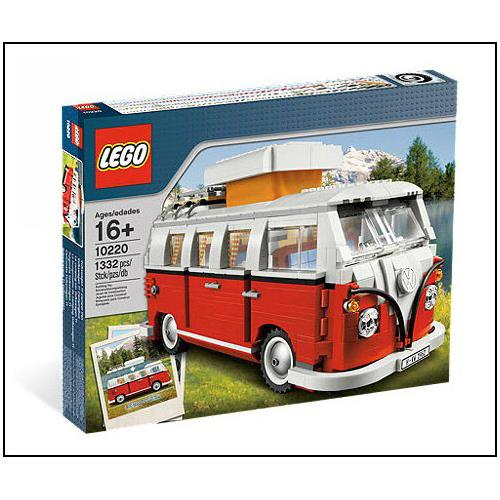 lego 10220 creator volkswagen t1 camper van ebay. Black Bedroom Furniture Sets. Home Design Ideas