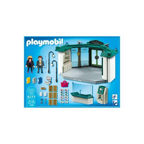 Playmobil 5177 banco con cajero autom tico for Banco con mas cajeros