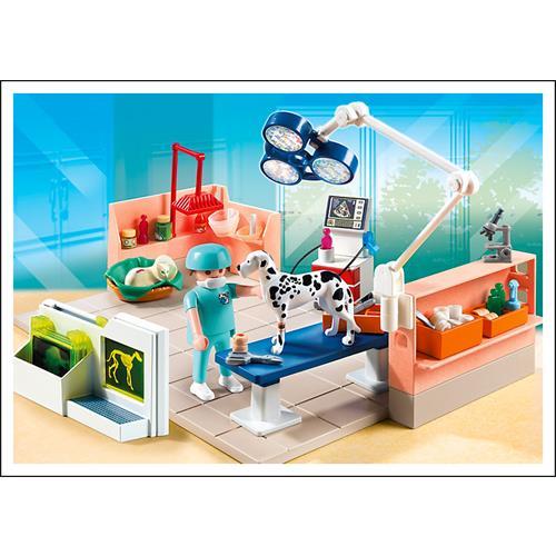 Playmobil 5530 veterinaria con quir fano ebay for Mesa quirofano veterinaria