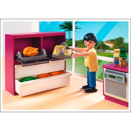 Playmobil 5582 city life cuisine moderne avec lot ebay for Cuisine 5582