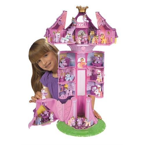 Simba-Toys-105957520-Filly-Einhorn-Regenbogenturm