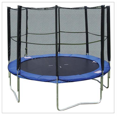 hudora 65755 trampolin 305 cm mit netz ebay. Black Bedroom Furniture Sets. Home Design Ideas