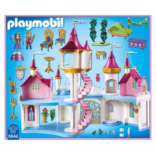 Playmobil 6848 princess grand ch teau de princesse ebay - Playmobil princesse chateau ...
